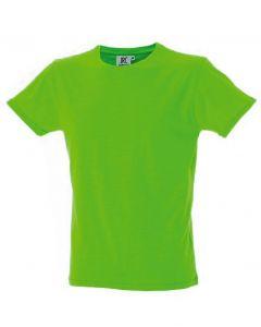 Perth Uomo-Light Green-100% Cotone Pettinato Slub-S
