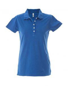 Polo Dubai Lady-100% Cotone Jersey Pettinato-Royal-S