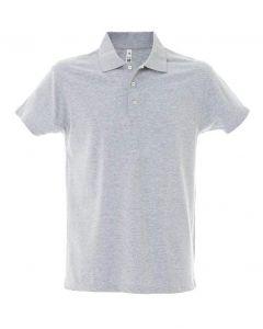 Polo Dubai Uomo-100% Cotone Jersey Pettinato-S-Melange
