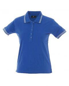 Polo Minorca Lady-Royal-100% Cotone Jersey Pettinato-S