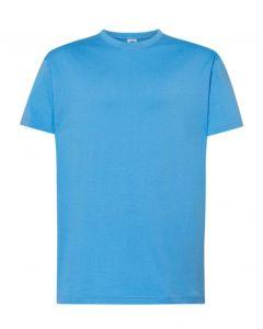 Regular T-Shirt Uomo-Azzure-100% Cotone-XS